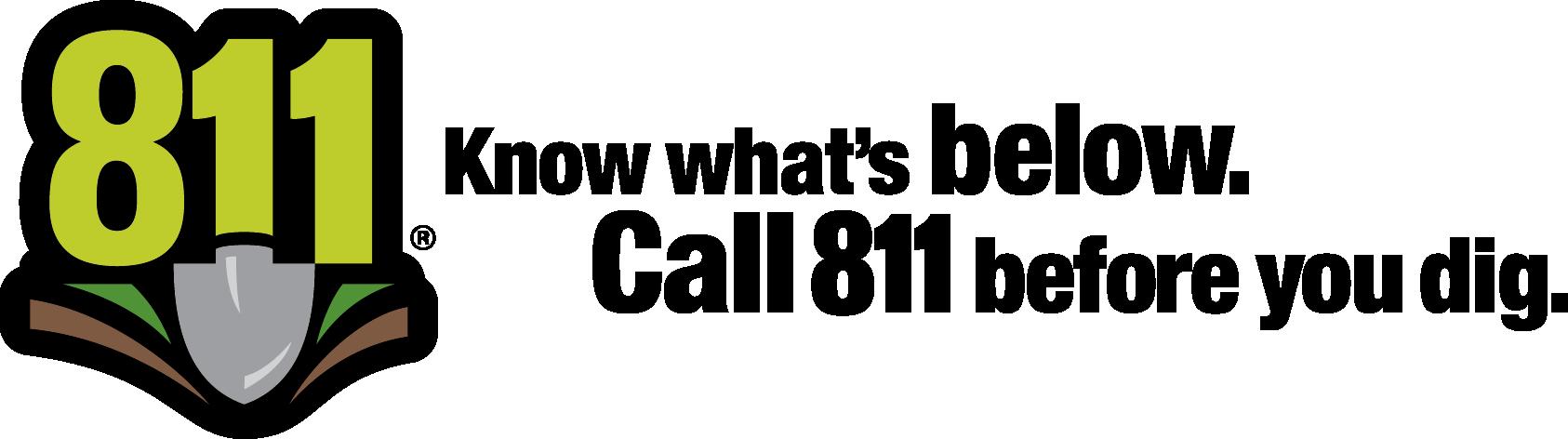811 logo horizontal color